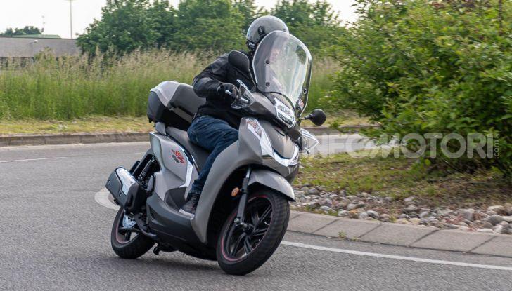 Prova Honda SH300i Sport, sempre il primo della classe! - Foto 48 di 55