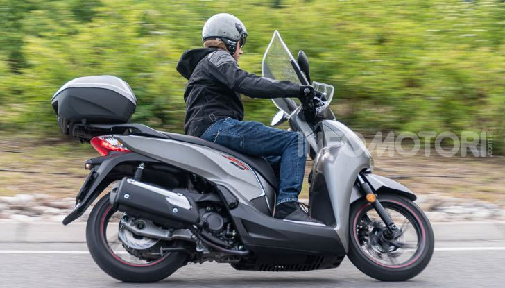 Prova Honda SH300i Sport, sempre il primo della classe! - Foto 50 di 55