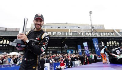 Jean-Éric Vergne conquista un nuovo podio a Berlino