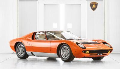 Ritrovata la Lamborghini Miura del film The Italian Job (1969)