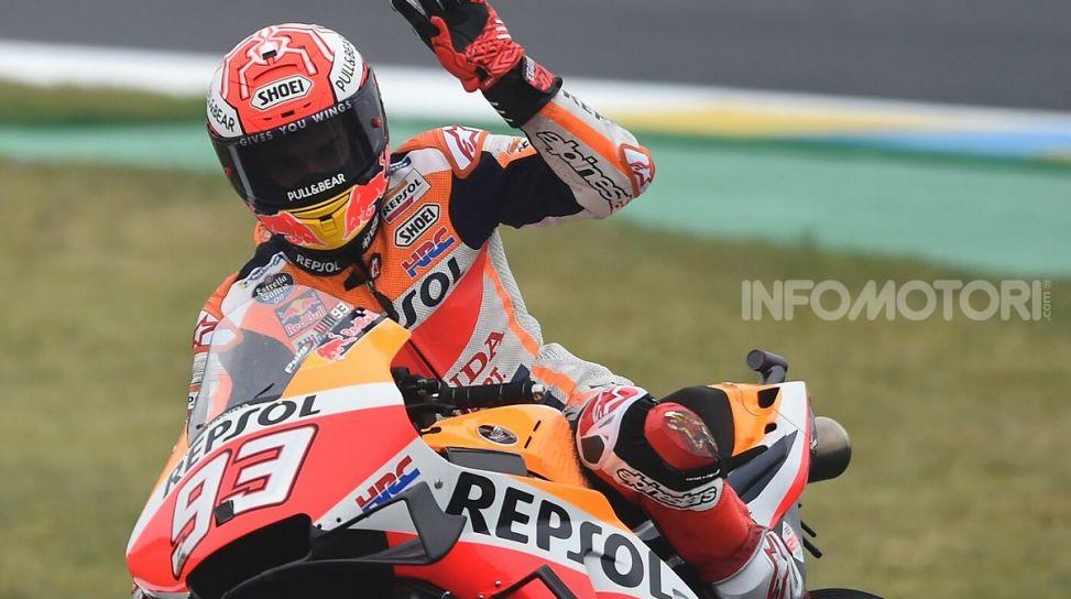 MotoGP 2019 GP di Francia, Le Mans: Marc Marquez trionfa davanti alle Ducati di Dovizioso e Petrucci, Rossi quinto