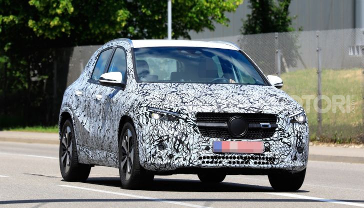 Mercedes GLA 2021, prime informazioni e foto della seconda generazione - Foto 6 di 26