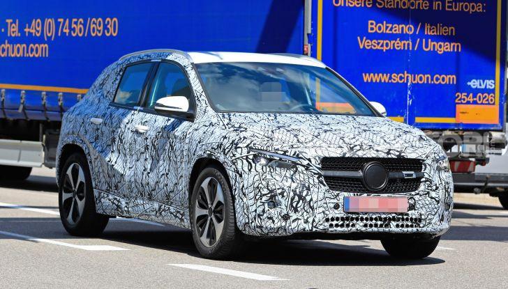 Mercedes GLA 2021, prime informazioni e foto della seconda generazione - Foto 7 di 26