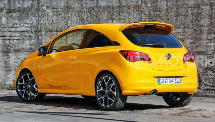 Opel Corsa GSi, la piccola tedesca diventa sportiva - Foto 1 di 14