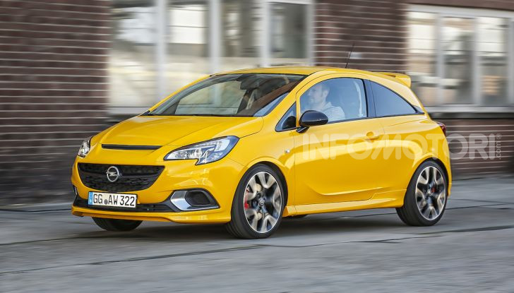 Opel Corsa GSi, la piccola tedesca diventa sportiva - Foto 7 di 14
