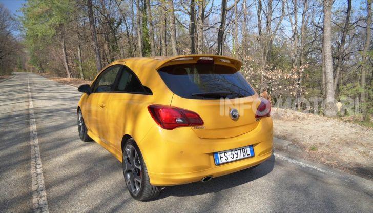 Opel Corsa GSi, la piccola tedesca diventa sportiva - Foto 9 di 14