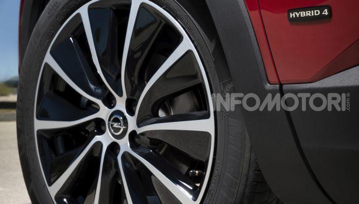 Opel Grandland X: arriva l'ibrido plug-in con trazione anteriore - Foto 10 di 12