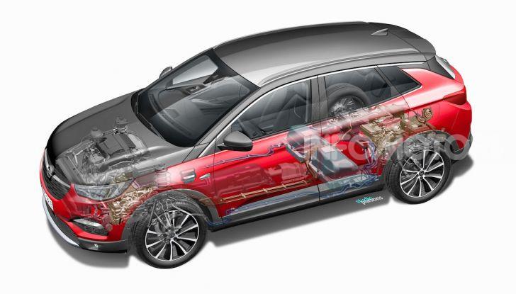 Opel Grandland X: arriva l'ibrido plug-in con trazione anteriore - Foto 12 di 12
