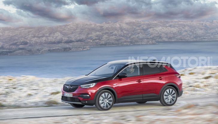 Opel Grandland X: arriva l'ibrido plug-in con trazione anteriore - Foto 3 di 12