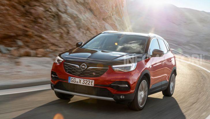 Opel Grandland X: arriva l'ibrido plug-in con trazione anteriore - Foto 5 di 12