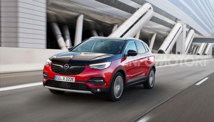 Opel Grandland X: arriva l'ibrido plug-in con trazione anteriore - Foto 6 di 12