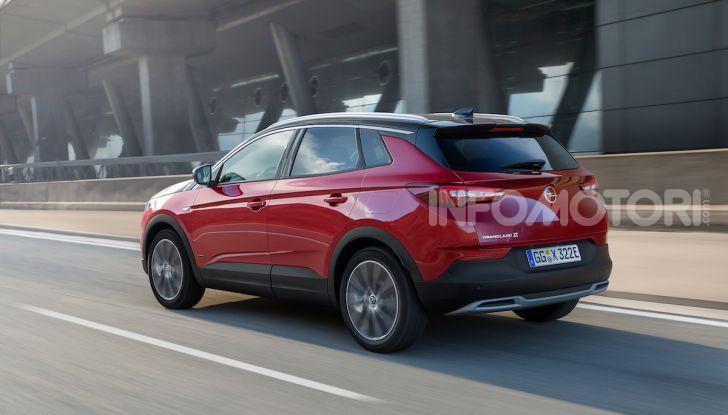 Opel Grandland X: arriva l'ibrido plug-in con trazione anteriore - Foto 7 di 12