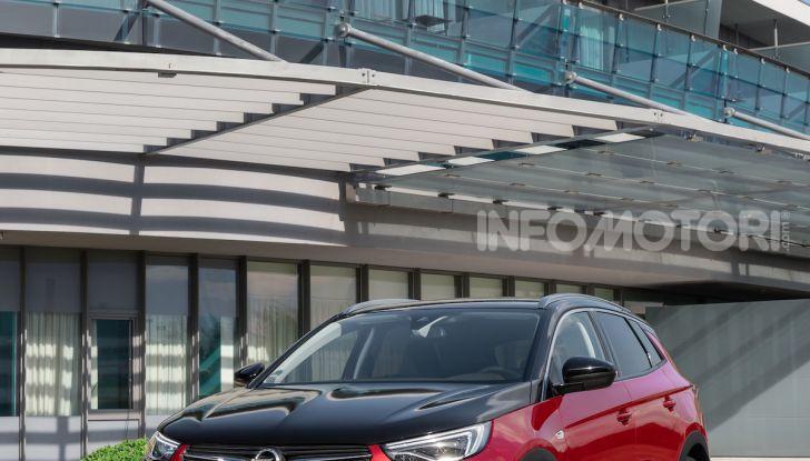 Opel Grandland X: arriva l'ibrido plug-in con trazione anteriore - Foto 8 di 12