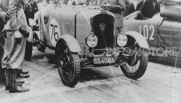 90 anni fa la prima Peugeot con tre cifre ed uno zero in mezzo - Foto 4 di 5