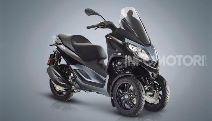Piaggio MP3 300 hpe: il tre ruote più famoso al mondo ancora più agile e sportivo - Foto 1 di 60