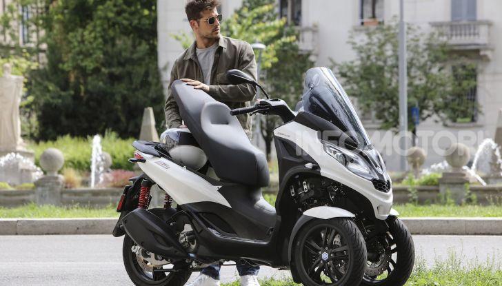 Piaggio MP3 300 hpe: il tre ruote più famoso al mondo ancora più agile e sportivo - Foto 18 di 60