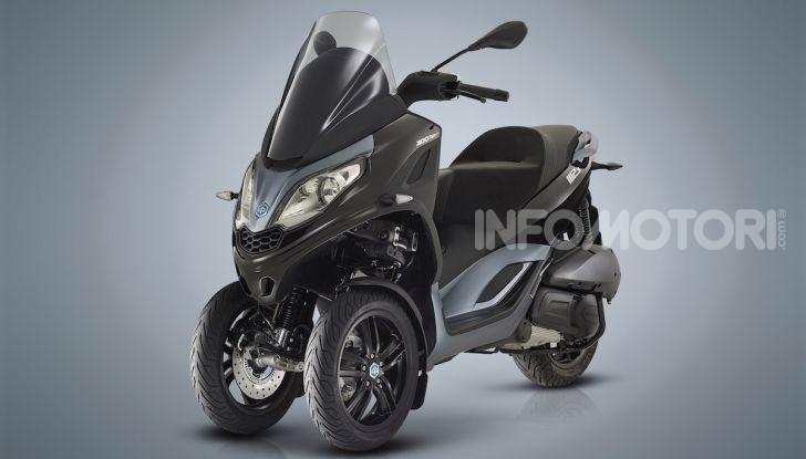 Piaggio MP3 300 hpe: il tre ruote più famoso al mondo ancora più agile e sportivo - Foto 2 di 60