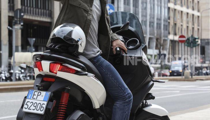 Piaggio MP3 300 hpe: il tre ruote più famoso al mondo ancora più agile e sportivo - Foto 20 di 60