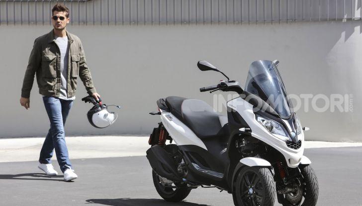 Piaggio MP3 300 hpe: il tre ruote più famoso al mondo ancora più agile e sportivo - Foto 22 di 60