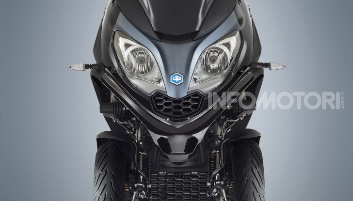 Piaggio MP3 300 hpe: il tre ruote più famoso al mondo ancora più agile e sportivo - Foto 4 di 60