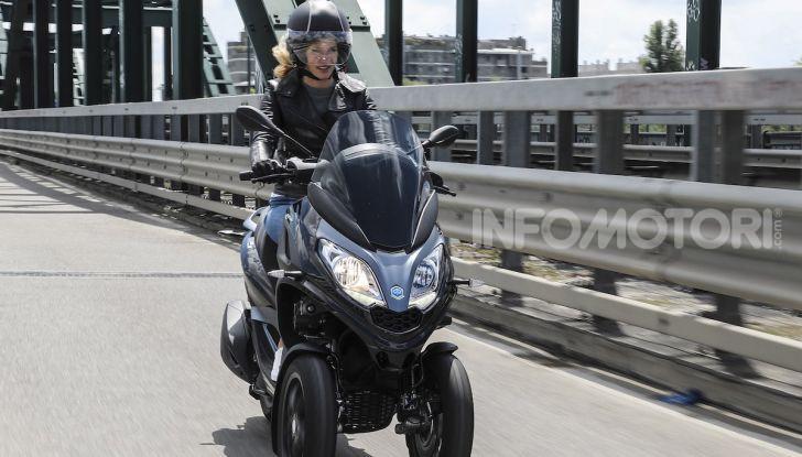 Piaggio MP3 300 hpe: il tre ruote più famoso al mondo ancora più agile e sportivo - Foto 44 di 60