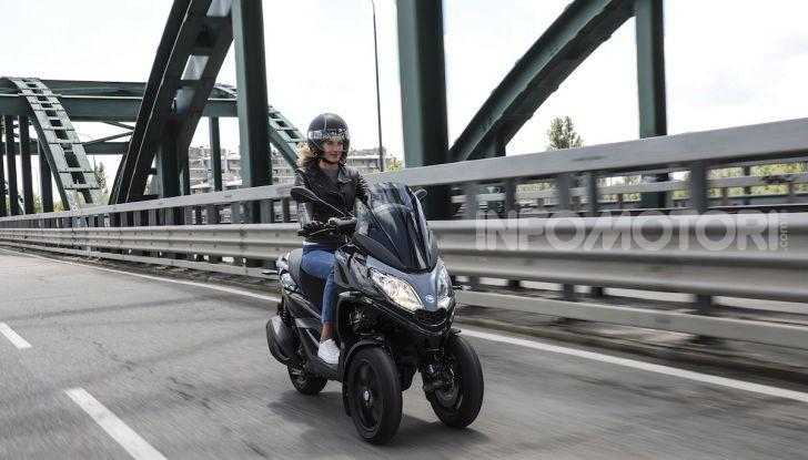 Piaggio MP3 300 hpe: il tre ruote più famoso al mondo ancora più agile e sportivo - Foto 45 di 60