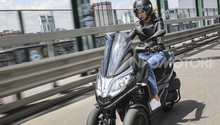Piaggio MP3 300 hpe: il tre ruote più famoso al mondo ancora più agile e sportivo - Foto 46 di 60