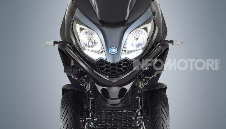 Piaggio MP3 300 hpe: il tre ruote più famoso al mondo ancora più agile e sportivo - Foto 5 di 60