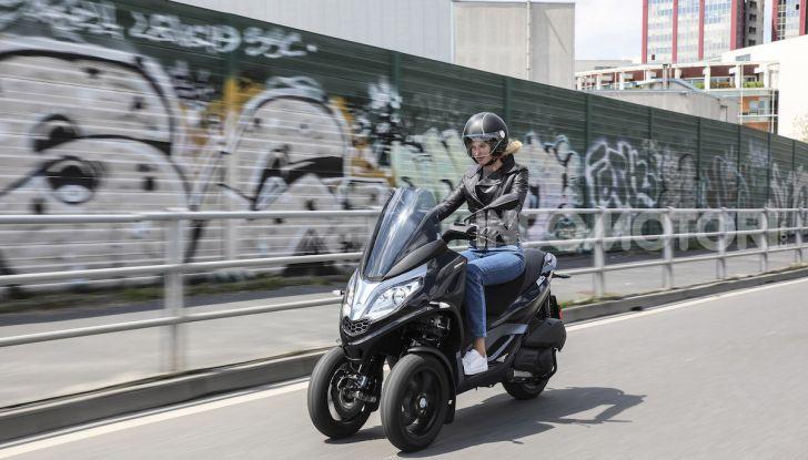 Piaggio MP3 300 hpe: il tre ruote più famoso al mondo ancora più agile e sportivo - Foto 50 di 60