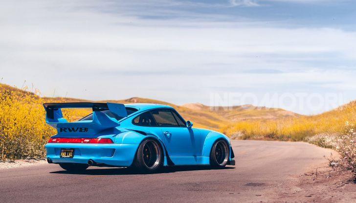 Porsche 911 Blue Riviera, il tuning di RWB - Foto 2 di 20