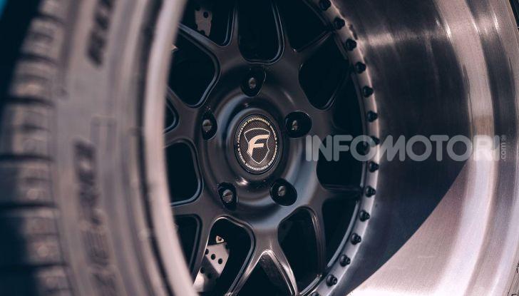 Porsche 911 Blue Riviera, il tuning di RWB - Foto 13 di 20