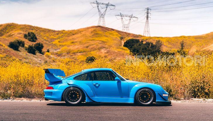 Porsche 911 Blue Riviera, il tuning di RWB - Foto 5 di 20