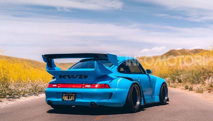 Porsche 911 Blue Riviera, il tuning di RWB - Foto 15 di 20