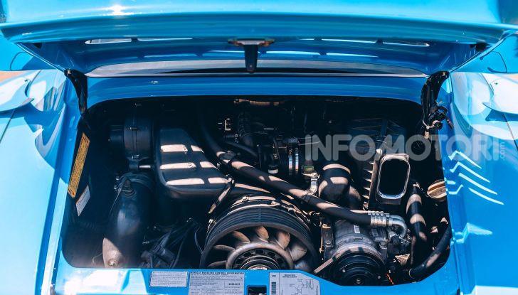 Porsche 911 Blue Riviera, il tuning di RWB - Foto 16 di 20