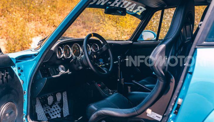 Porsche 911 Blue Riviera, il tuning di RWB - Foto 19 di 20