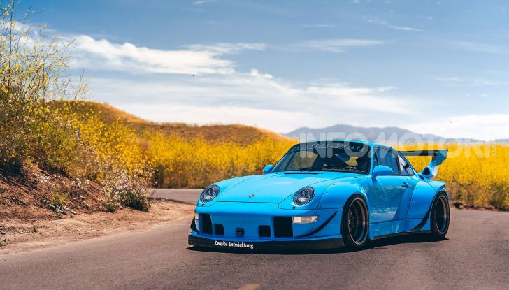 Porsche 911 Blue Riviera, il tuning di RWB - Foto 20 di 20