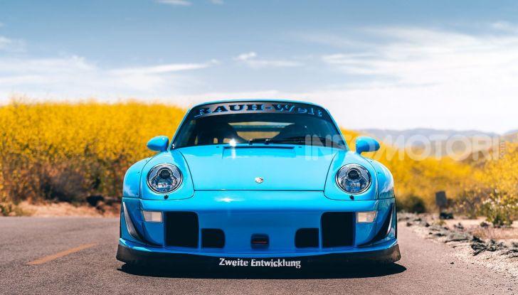 Porsche 911 Blue Riviera, il tuning di RWB - Foto 6 di 20