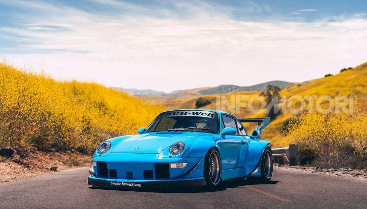Porsche 911 Blue Riviera, il tuning di RWB - Foto 1 di 20