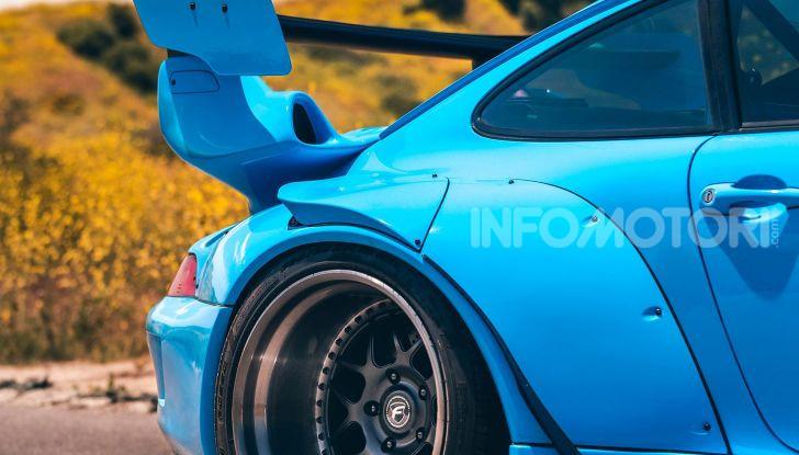 Porsche 911 Blue Riviera, il tuning di RWB - Foto 3 di 20