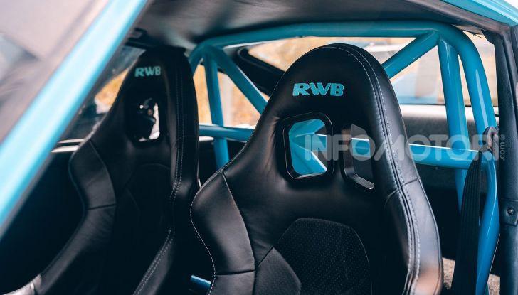 Porsche 911 Blue Riviera, il tuning di RWB - Foto 9 di 20