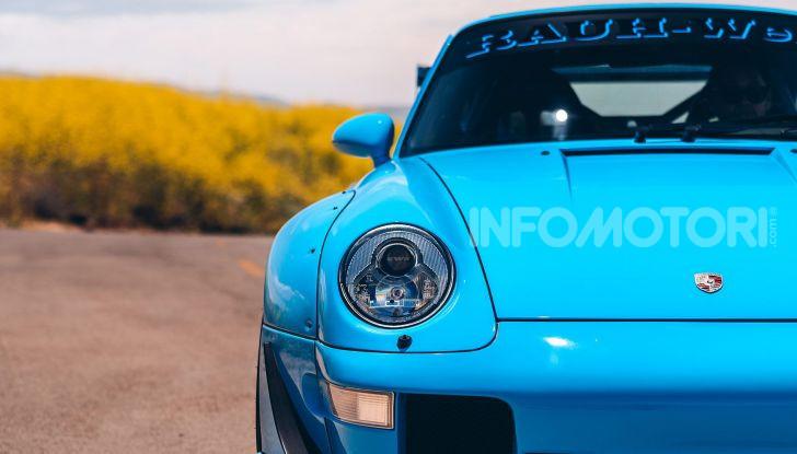 Porsche 911 Blue Riviera, il tuning di RWB - Foto 4 di 20