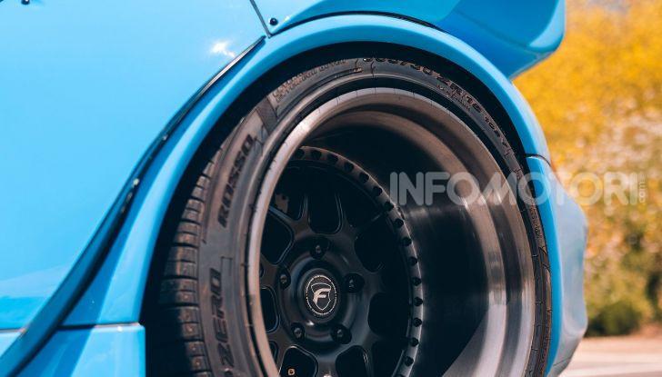Porsche 911 Blue Riviera, il tuning di RWB - Foto 11 di 20