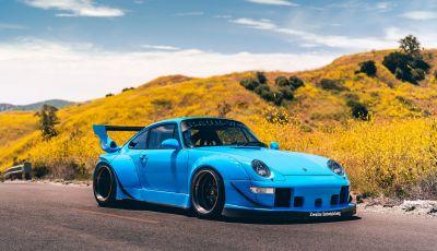 Porsche 911 Blue Riviera, il tuning di RWB