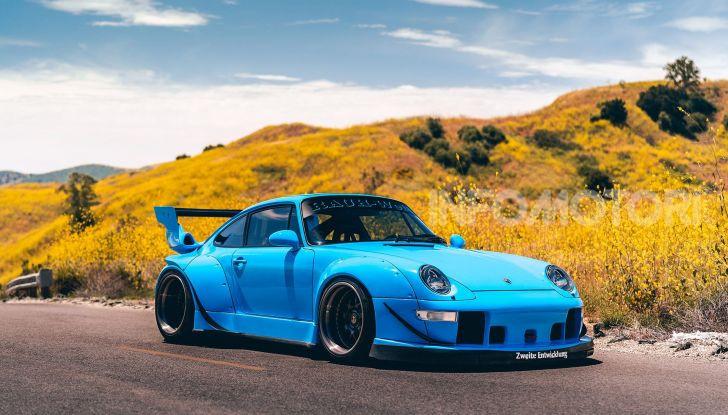 Porsche 911 Blue Riviera, il tuning di RWB - Foto 12 di 20