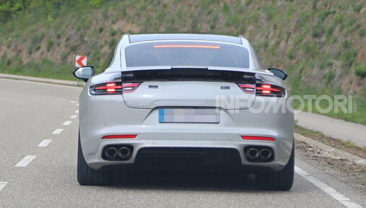Porsche Panamera Facelift 2020 immagini e caratteristiche - Foto 2 di 5
