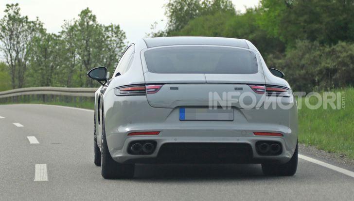 Porsche Panamera Facelift 2020 immagini e caratteristiche - Foto 5 di 5