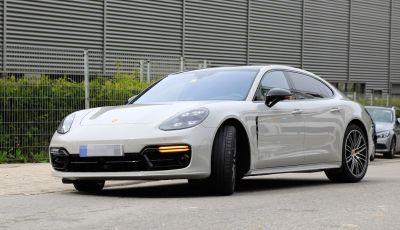 Porsche Panamera Facelift 2020 immagini e caratteristiche