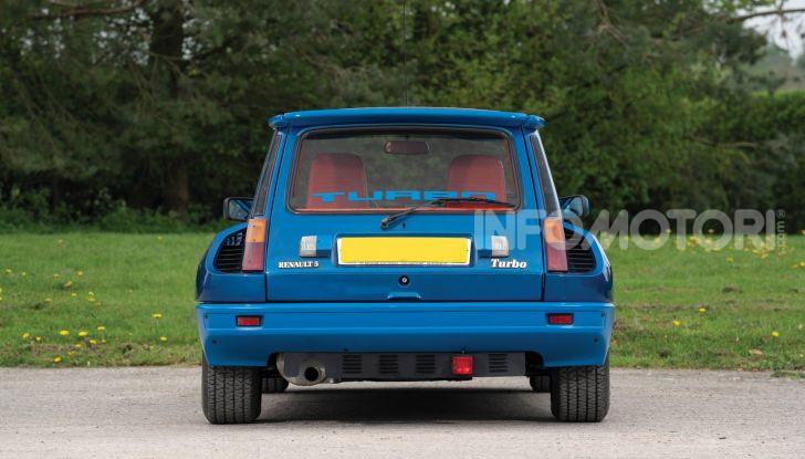 Renault 5 Turbo, RMSothebys la mette all'asta a Villa Erba - Foto 2 di 18