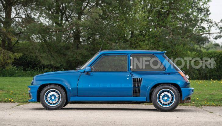 Renault 5 Turbo, RMSothebys la mette all'asta a Villa Erba - Foto 5 di 18