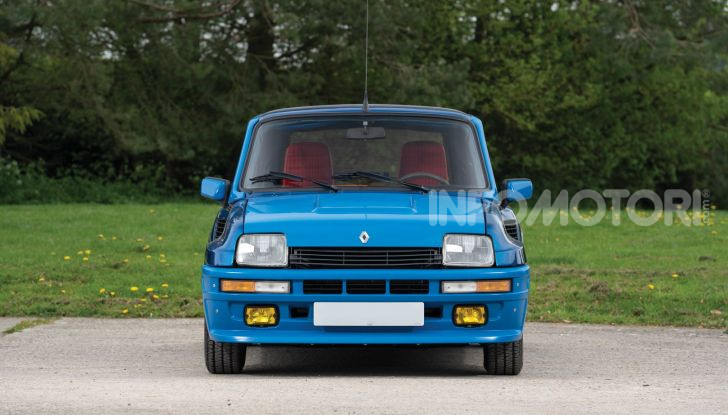 Renault 5 Turbo, RMSothebys la mette all'asta a Villa Erba - Foto 4 di 18